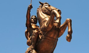 Photograph: Georgi Licovski/EPA http://www.theguardian.com/world/2011/aug/14/alexander-great-macedonia-warrior-horse