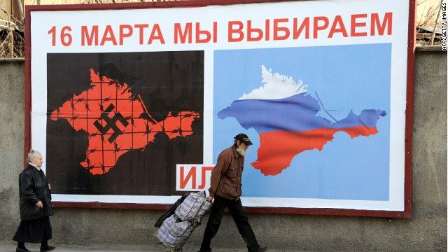 « Le 16 mars nous choisirons ». http://www.onenewspage.us/video/20140311/1671793/Albright-decodes-Crimea-Nazi-billboard.htm