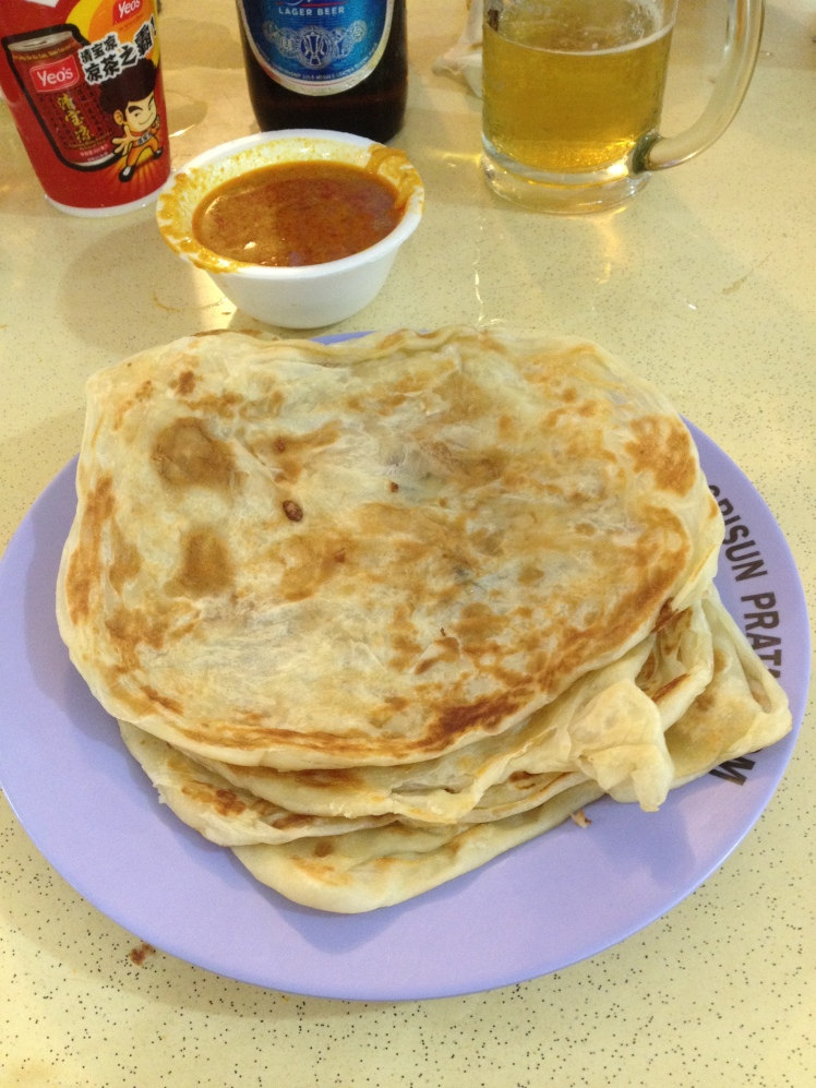Prata avec sa sauce curry  KillianTB© 2014