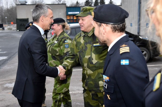 NATO Secretary General visits Sweden